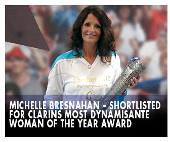 Michelle Bresnahan  Woman of the year award